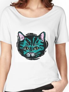 one very blue cat Women's Relaxed Fit T-Shirt