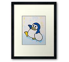 Penguin Land Framed Print