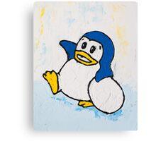 Penguin Land Canvas Print