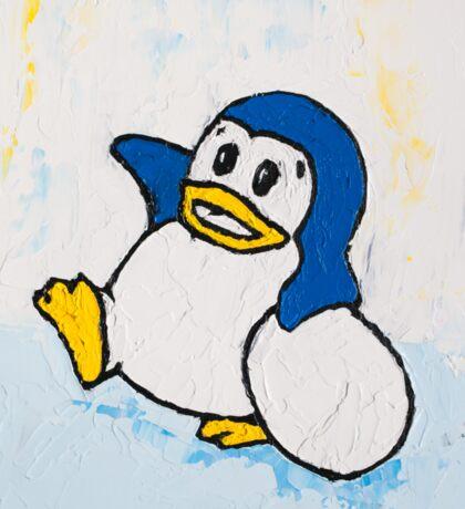 Penguin Land Sticker