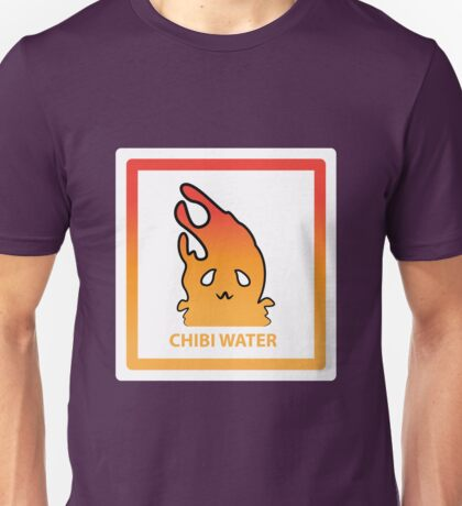 Chibi Water 3 Orange Unisex T-Shirt