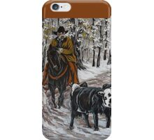 Living The Dream, Roundin' Up Yearlings iPhone Case/Skin