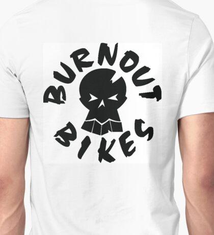 Burnout Bikes - Black Logo Unisex T-Shirt