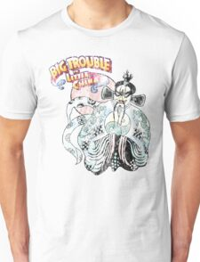 Big Trouble In Little China & Lo Pan 25 Years Old Distress Fade Unisex T-Shirt