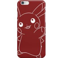 Line pikachu iPhone Case/Skin