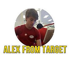 Alex from Target Photographic Print