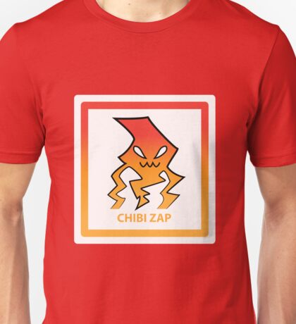 Chibi Zap 3 Orange Unisex T-Shirt