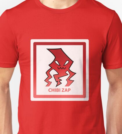 Chibi Zap 4 Red Unisex T-Shirt