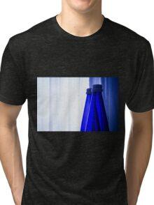 Blue water bottle Tri-blend T-Shirt