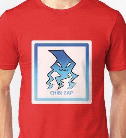 Chibi Zap 5 Light Blue Unisex T-Shirt