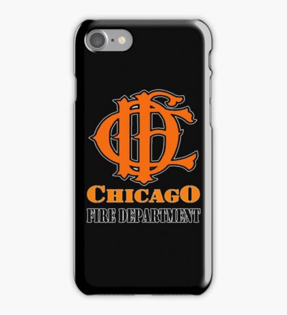 CHICAGO FIRE DEPT iPhone Case/Skin