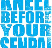 Kneel Before Your Senpai (BLUE) by Penelope Barbalios