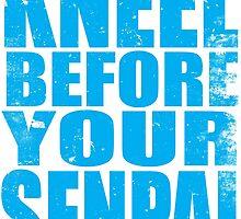 Kneel Before Your Senpai (BLUE) by Penelope Barbalios