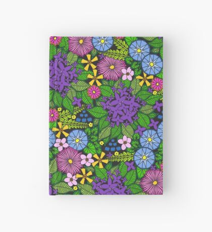 Wild Wildflowers Hardcover Journal