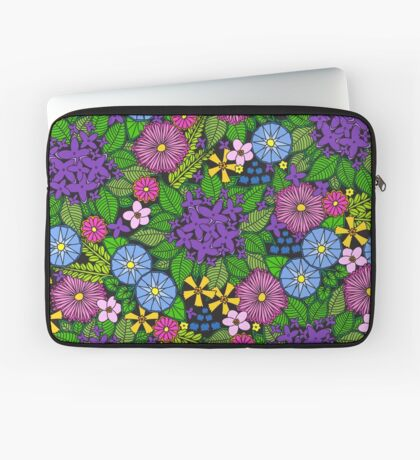 Wild Wildflowers Laptop Sleeve