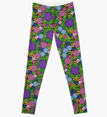 Wild Wildflowers Leggings