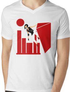 Runner Mens V-Neck T-Shirt