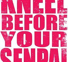 Kneel Before Your Senpai (PINK) by Penelope Barbalios