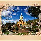 Main Plaza At Paccha, Ecuador III by Al Bourassa