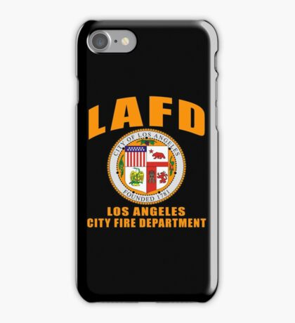 LAFD  - Los Angeles Fire Department iPhone Case/Skin