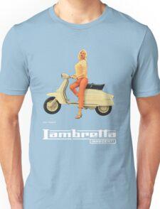 Vintage Lambretta Ad Unisex T-Shirt