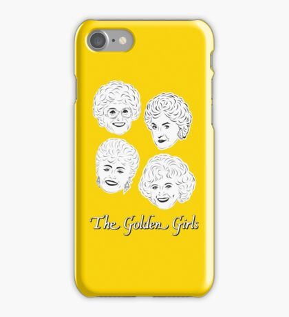 The Golden Girls - Set of Four with logo iPhone Case/Skin