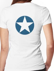 AIR FORCE, SYMBOL, WWII, USA, May 1942, to July 1943 Womens Fitted T-Shirt