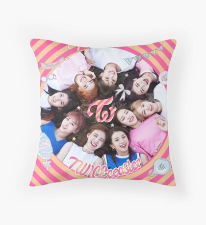 twice twicecoaster lane 1 Throw Pillow