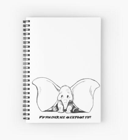 Cute elephant Spiral Notebook