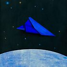 Paper Airplane 74 by YoPedro