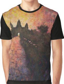 Angkor Wat, Cambodia.  Watercolor painting Graphic T-Shirt