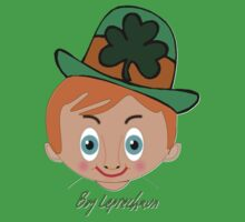 Toon Boy 5 Leprechaun T-shirt design Kids Tee