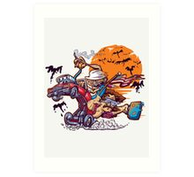 Fink and Loathing Art Print