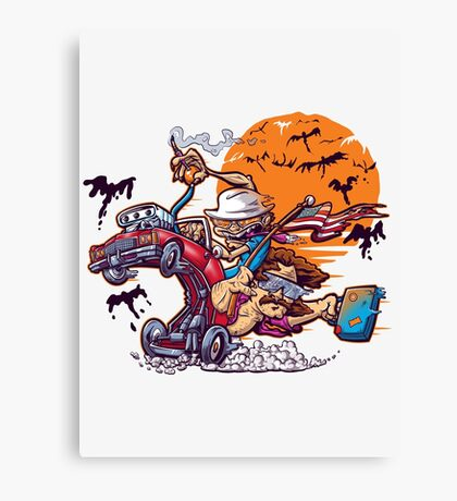 Fink and Loathing Canvas Print