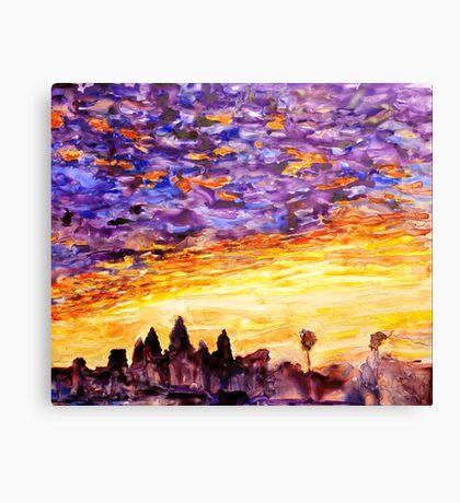 Sunrise at Angkor Wat- Cambodia Canvas Print