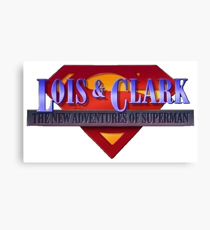 Lois and Clark the New Adventures of Superman Canvas Print