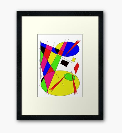 Pure Abstract 1 Framed Print