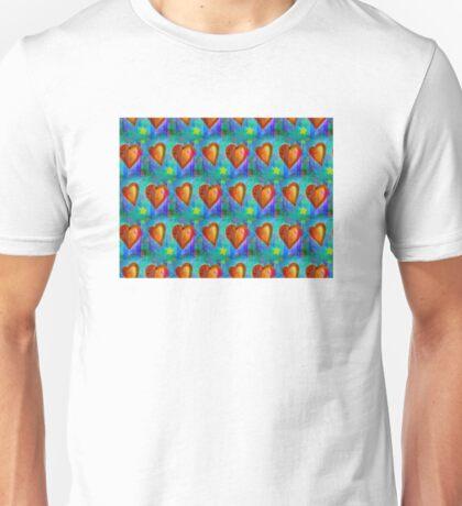 Wallpaper with heart 16 Unisex T-Shirt
