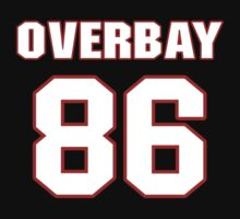 NFL Player Nathan Overbay eightysix 86 by imsport