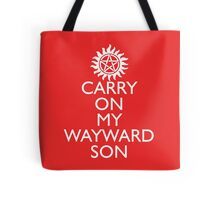 SUPERNATURAL UNOFFICIAL THEME SONG SAM AND DEAN WINCHESTER Tote Bag