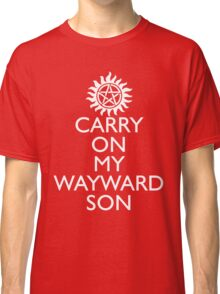 SUPERNATURAL UNOFFICIAL THEME SONG SAM AND DEAN WINCHESTER Classic T-Shirt