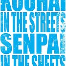 Kouhai in the Streets... (BLUE) by Penelope Barbalios