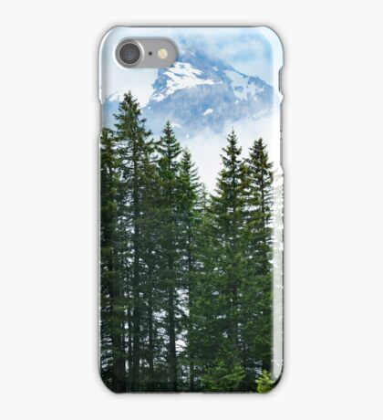 In The alps iPhone Case/Skin