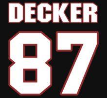 NFL Player Eric Decker eightyseven 87 by imsport