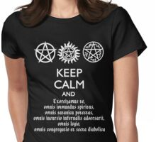 SUPERNATURAL - SPEAKING LATIN Womens Fitted T-Shirt