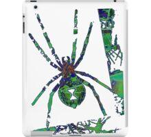 Arachnophilia-Green iPad Case/Skin