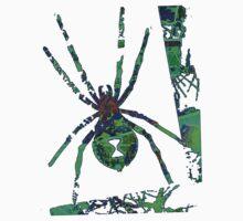 Arachnophilia-Green Kids Clothes