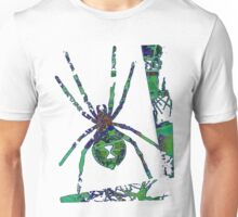 Arachnophilia-Green Unisex T-Shirt