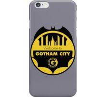 Welcome Gotham iPhone Case/Skin