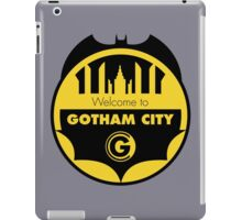 Welcome Gotham iPad Case/Skin
